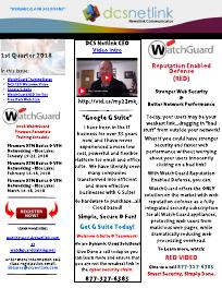 DCS Newsletter Q1 2018