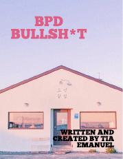 BPD bullsh*t